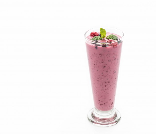 Blueberry Almond Shake