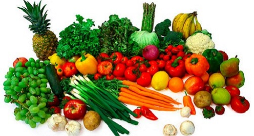 List Of Raw Foods