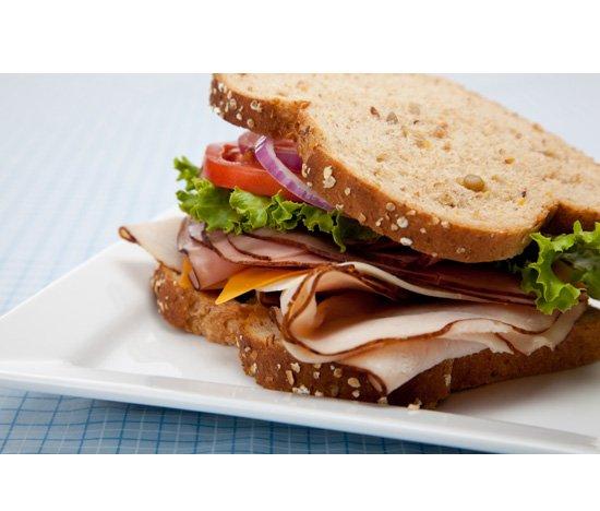 Multigrain bread sandwich