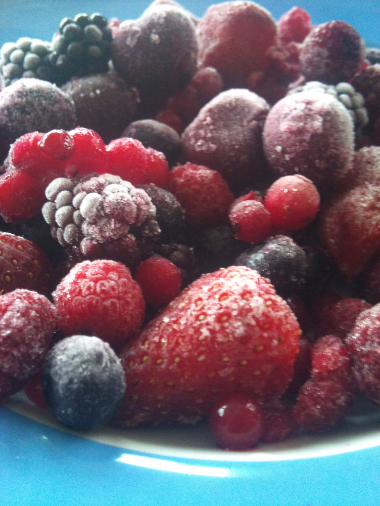Sweetened Frozen Fruit