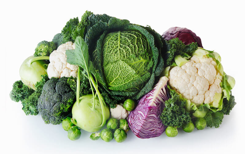 Goitrogenic vegetables