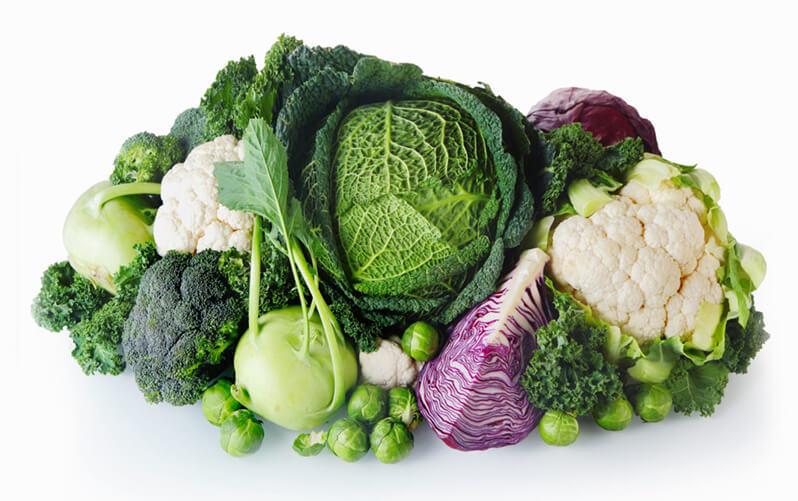 Goitrogenic vegetables