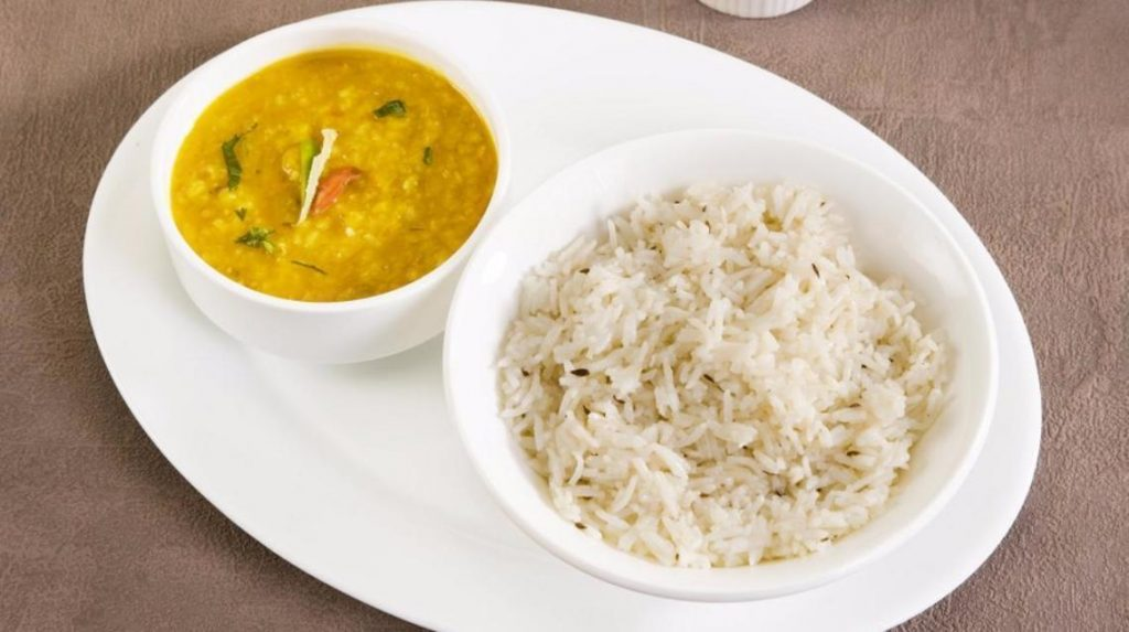 Rice with dal