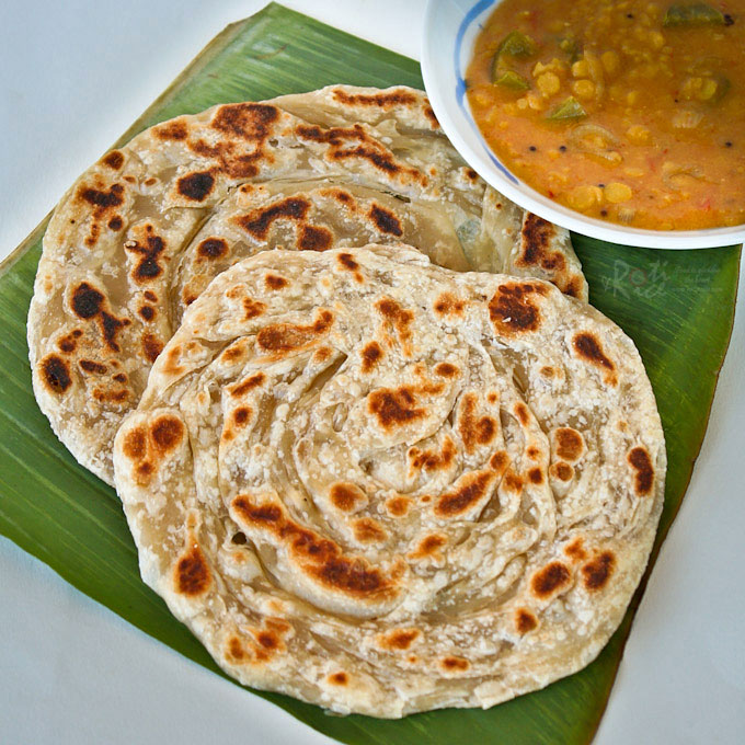 paratha with sabji