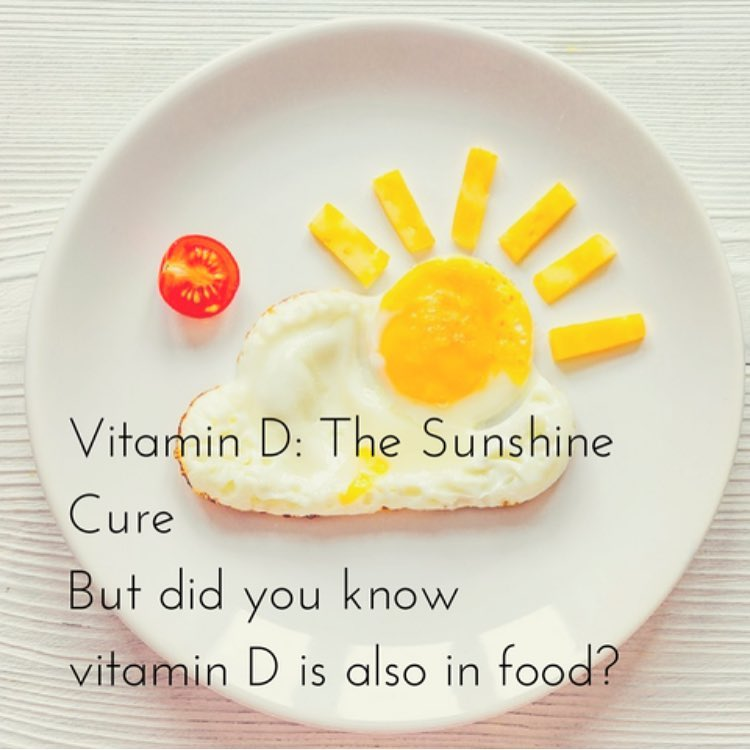 Foods, Vegetable & Fruits With Vitamin D