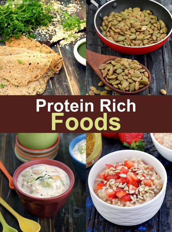 Protein Rich Indian Foods