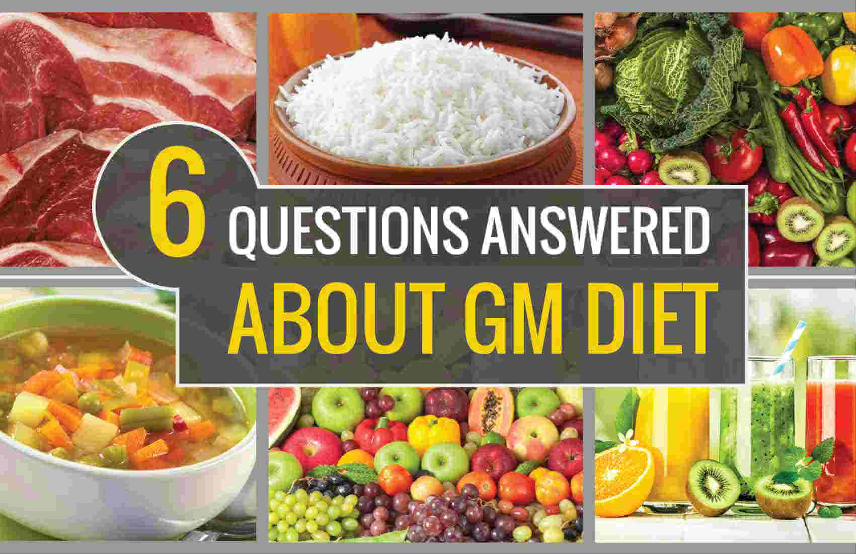 Some Effective Tips On The GM Diet Plan Day 6