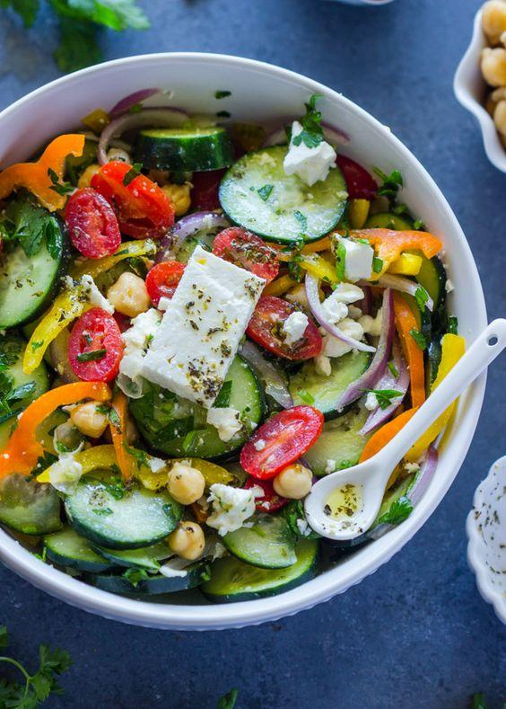 7 Day Sample Plan Of Vegetarian Mediterranean Diet
