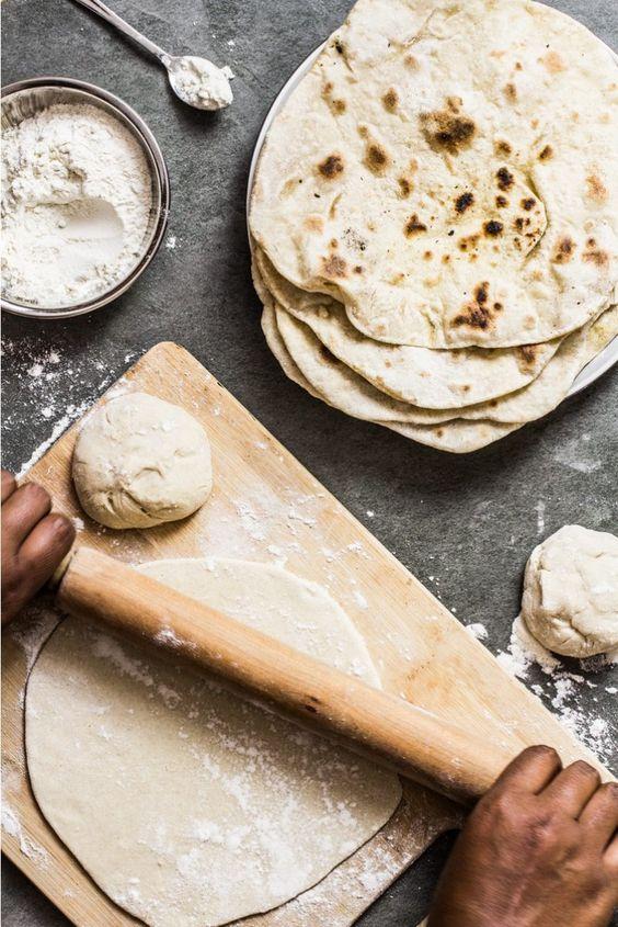 calories in Roti