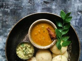 Idli Sambhar for Weight Loss