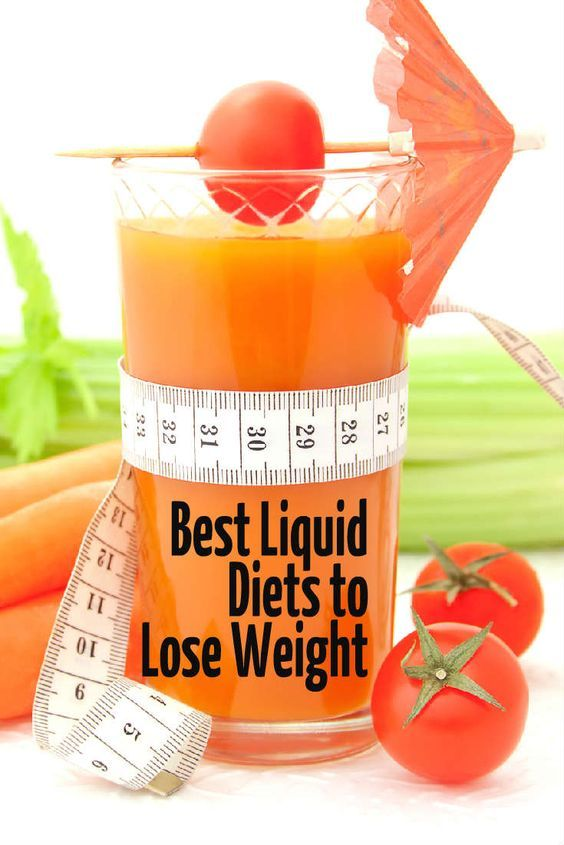 Liquid Diet Plan For Weight Loss