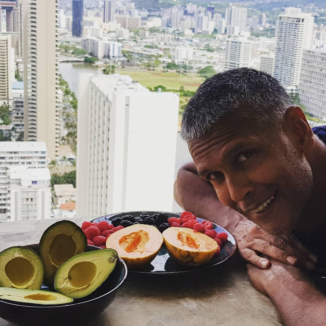 Milind Soman Diet