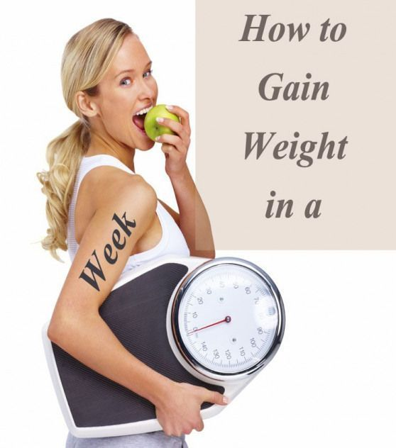 Weight Gain Tips for Females