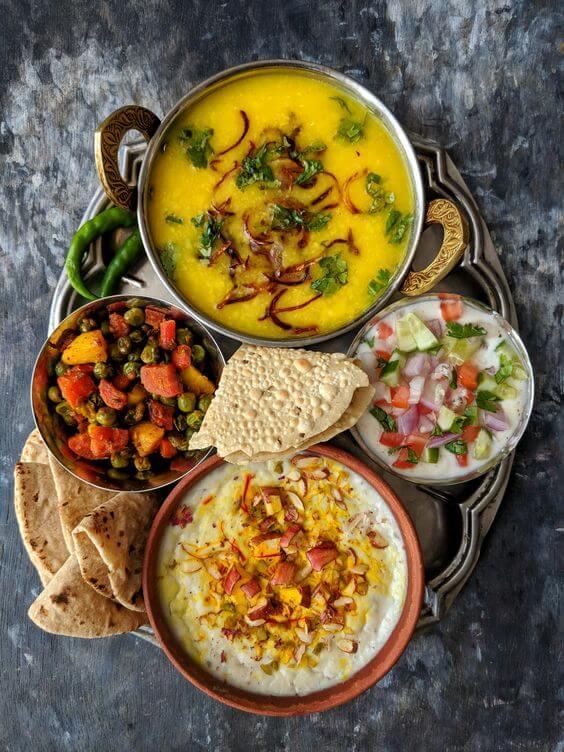 1500 calorie Indian diet