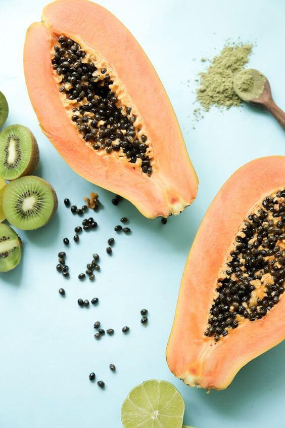 Papaya or kiwi