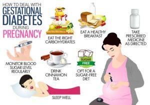 gestational diabetes diet plan blood glucose levels
