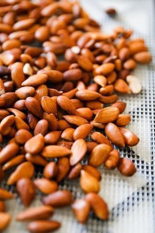 overnight soaked almonds