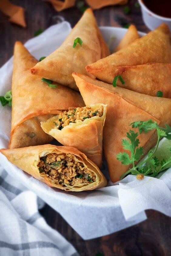 Tableau des calories dans la cuisine indienne