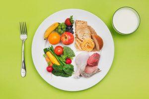 balanced diet for weight loss indian diet plan