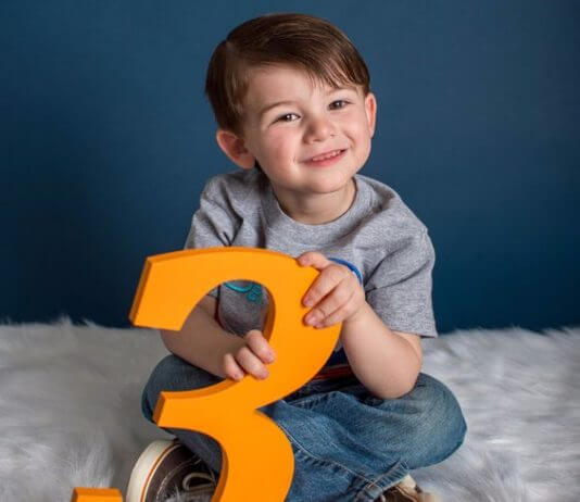 3 year old baby