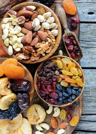 list of dry fruits for weight loss
