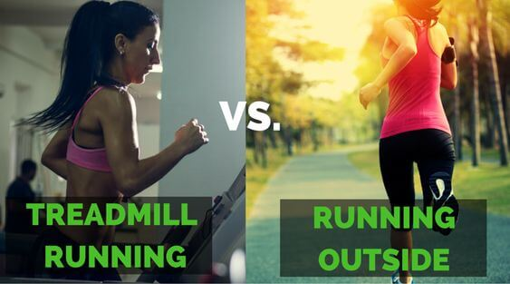 Running On A Treadmill Vs Outside